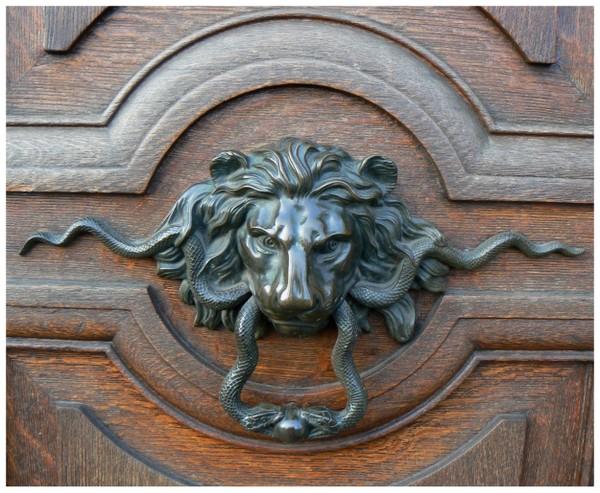 Heurtoirs de porte fer forg - Heurtoir de porte d entree ...